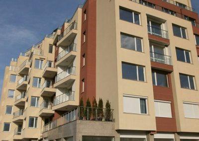 Многофункционална жилищна сграда с магазини, офиси, ателиета и подземни гаражи, кв. Манастирски ливади