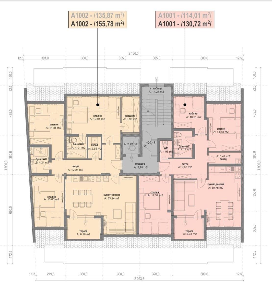 Сграда А – Етаж 10