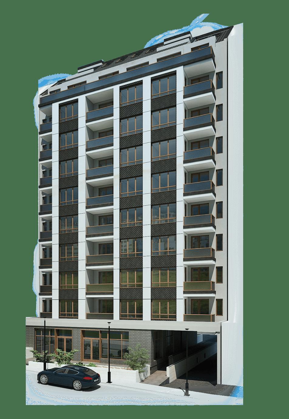 Сграда А – жилищна